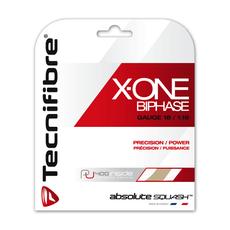 Naciąg Tecnifibre X-One Biphase Squash 9.7m naturalny