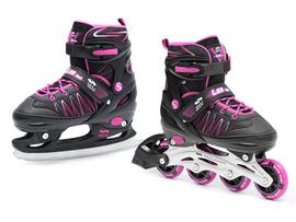 2w1 łyżwy + rolki regulowane SMJ sport LEA
