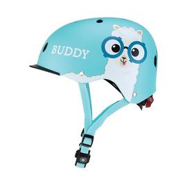 Kask dziecięcy Globber Elite Lights 507-105 Poolside Blue / Buddy