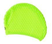 Czepek pływacki SMJ sport NW25 zielony fluorescencyjny