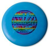 Frisbee Discraft Disc Golf  Putter Challenger Blue/Rainbow 1