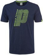 Koszulka męska Prince P Graphic Crew T-shirt 3M157038 Navy