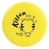 Miękkie, piankowe FRISBEE X-COM UK105 GRAFF Kitten YELLOW KIDS