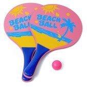 Zestaw do gry plażowej TBS 9856 Pink