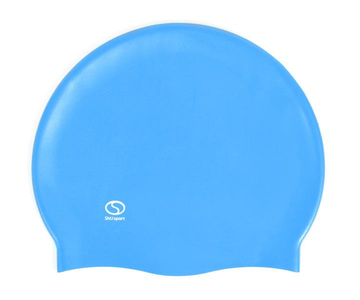 Czepek basenowy SMJ Masaż 303 niebieski