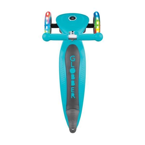 Hulajnoga 3-kołowa Globber Primo Foldable Lights 432-105-2 Teal