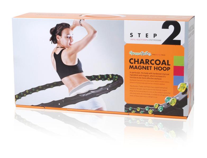 Koło Hula Hop Charcoal (średnica 110cm, waga 1,25kg)