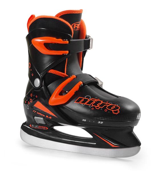 Łyżwy hokejowe regulowane Roller derby Nitro 8.8 Boy