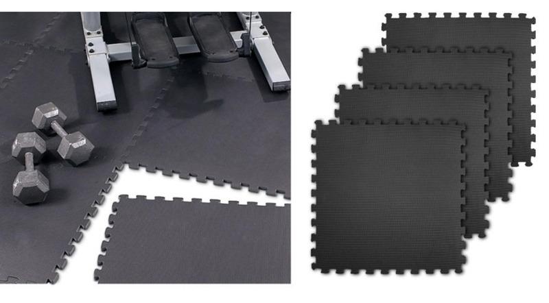Mata ochronno - amortyzująca Puzzle EVA  SMJ Sport YG011 4 szt.