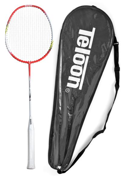 Rakietka do Badmintona TELOON TSUNAMI TL300 white/red