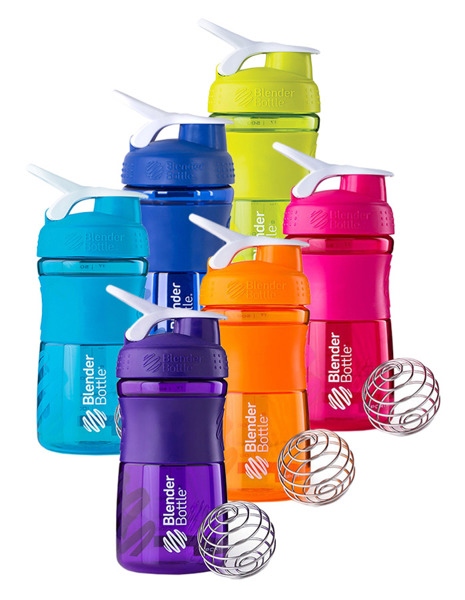 Shaker do odżywek Blender Bottle SportMixer 590ml różowy